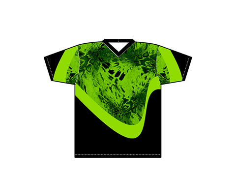 Lime Green Prym1 camo pattern apparel
