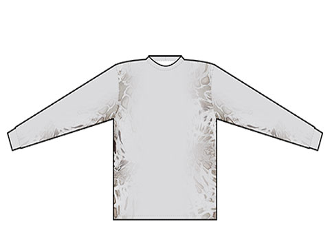 White Out Prym1 camo pattern apparel
