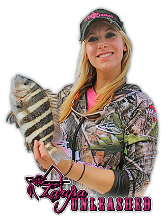 Larysa wears Valley Fashions Realtree Camo.