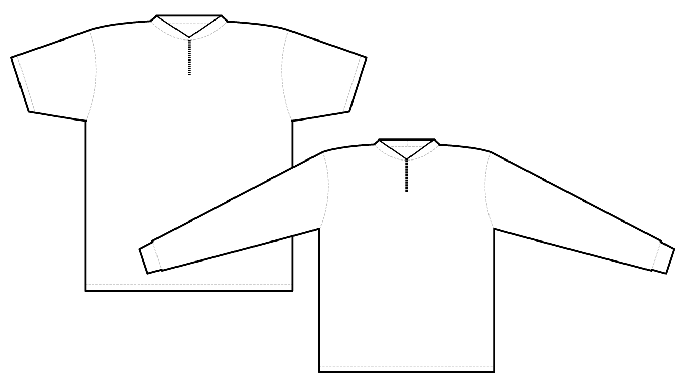 2621 short sleeve and long sleeve