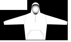 2807 1/4 zip hoodie