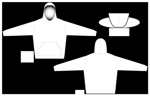 2808 pullover hoodie